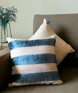 Indulgence Collection 2 Pieces Set 40X40 Cms Cotton Velvet Splendour Cushion Cover