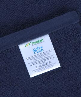 Soft & Plush 2 Pieces Bathmat 800 GSM Navy Bathmat