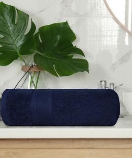 Soft & Plush 75X140 Cms 500 GSM Bath Towel A.Blue