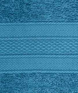 Soft & Plush 4 Pieces Hand 500 GSM Teal Towel