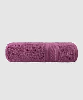Soft & Plush 75X140 Cms 500 GSM Bath Towel Purple